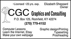 Betsy's CGC business card